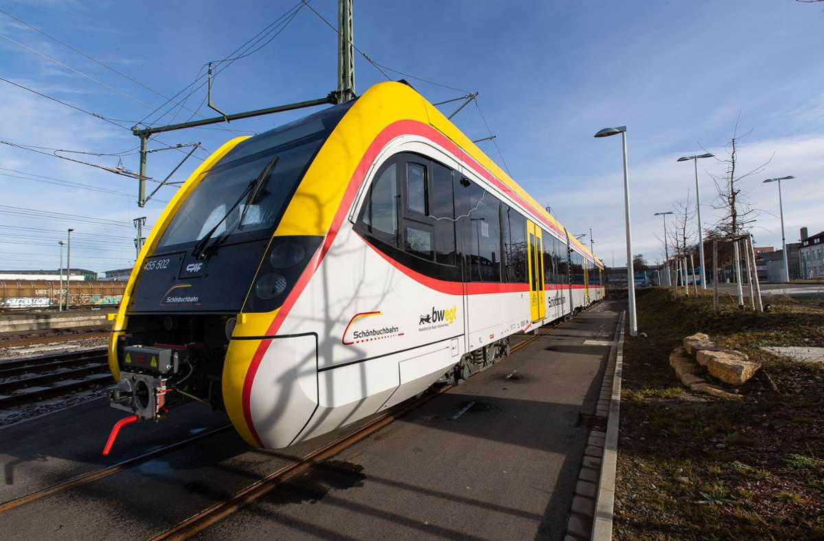 Schönbuchbahn: Falsche Bremsen: Die neuen Züge müssen warten